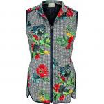 EP Pro Women's Geo Floral Print Cire Golf Vests - ON SALE!