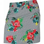 EP Pro Women's Tour-Tech Geo Floral Pull-On Golf Skorts - ON SALE!